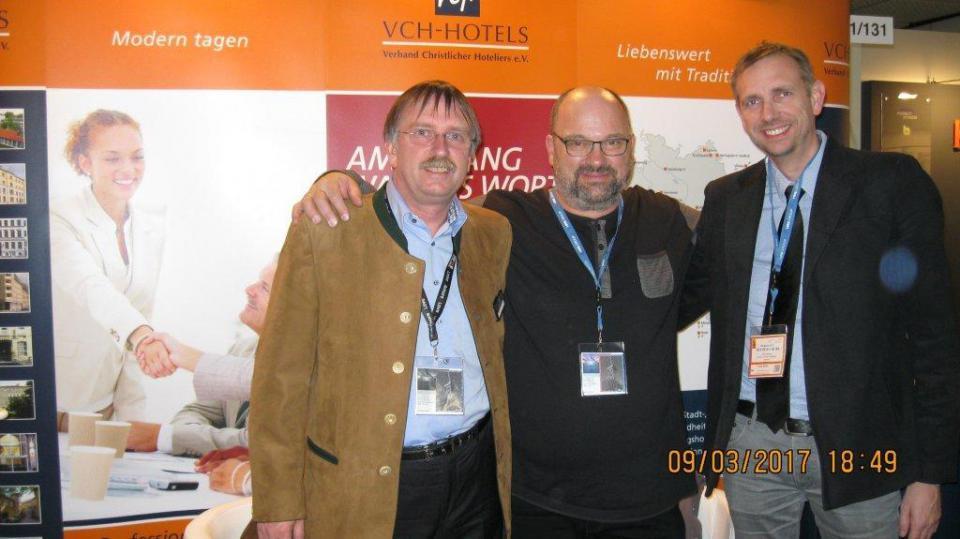 Dieter Kümpers, Hubert Lösch, Erik Ramballe Hansen